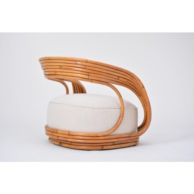 Eva Armchair Designed by Giovanni Travasa for Vittorio Bonacina For Sale - Image 9 of 12