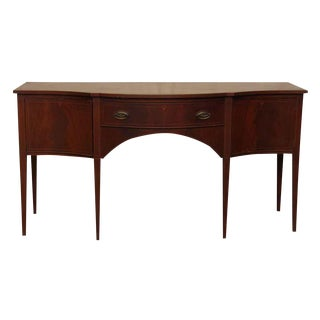 Antique Mahogany Sideboard For Sale