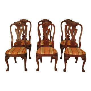 Kittinger Colonial Williamsburg Cw-146 Mahogany Dining Chairs - Set of 6 For Sale