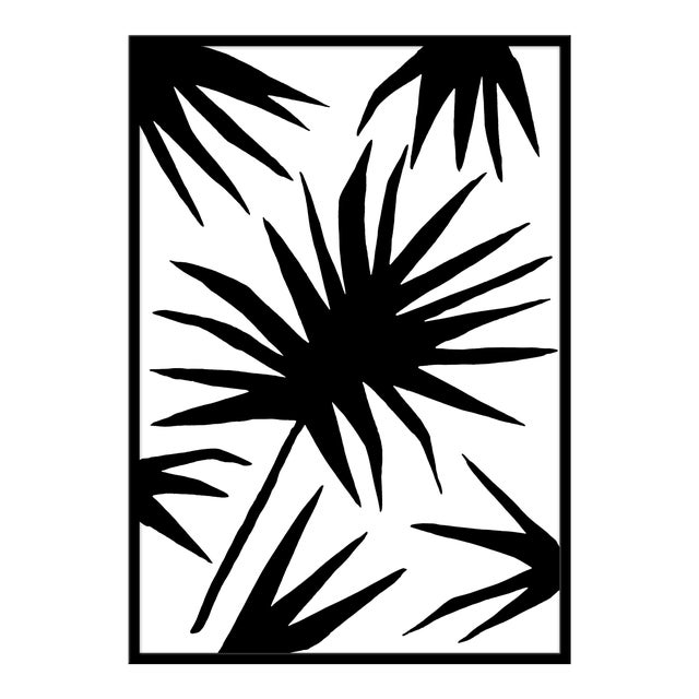 """Large """"Palm Two"""" Print by Kate Roebuck, 34"""" X 48"""" For Sale"""