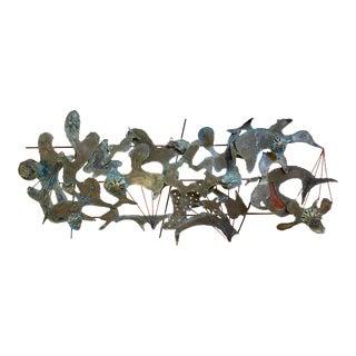 Metal Sculpture Wall Art For Sale