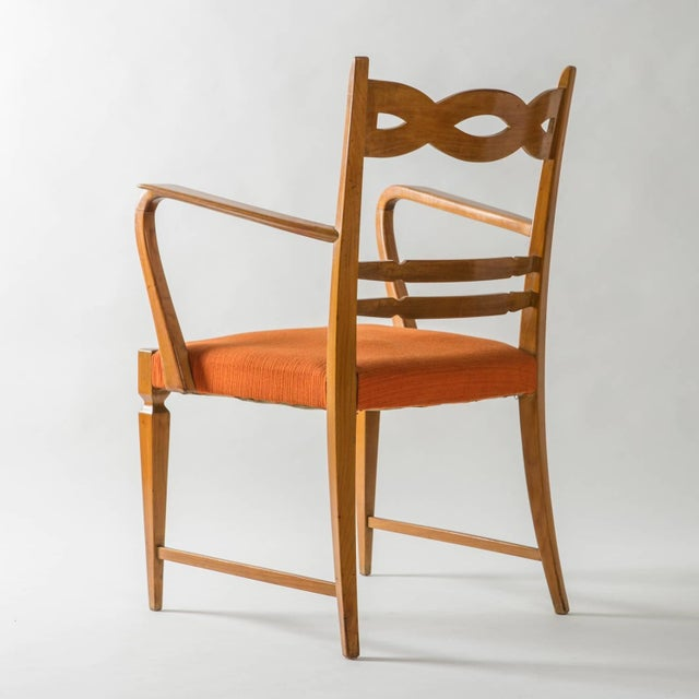 Armchair by Paolo Buffa by Marelli - Image 4 of 10