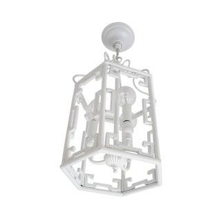 Greek Key Light Pendant