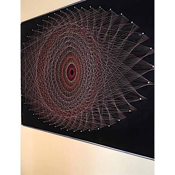 Mid-Century 1970s String Art - Image 3 of 6