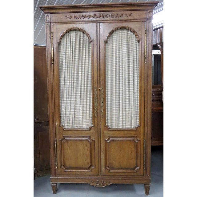 Auffray Country French Armoire For Sale - Image 9 of 9