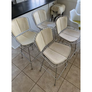 1950s Vintage Bertoia Counter Stool-Set Of 4 Preview