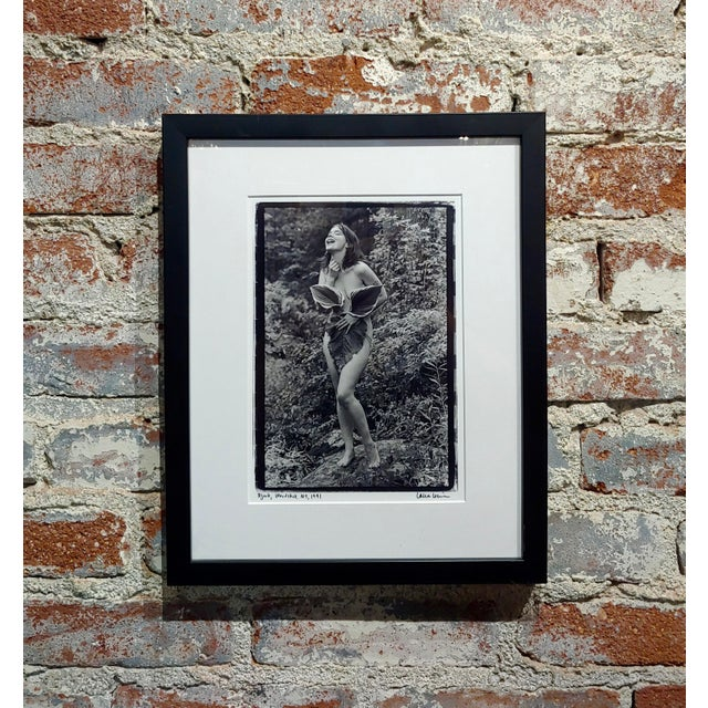 Bjork Nude in Woodstock- Photograph Signed by Laura Levine, 1991 For Sale - Image 10 of 10