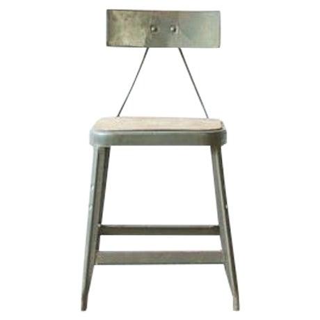 Industrial Metal Frame Chair - Image 1 of 4