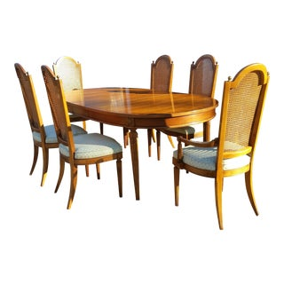 1960s Traditional Thomasville Dining Set - 7 Pieces For Sale