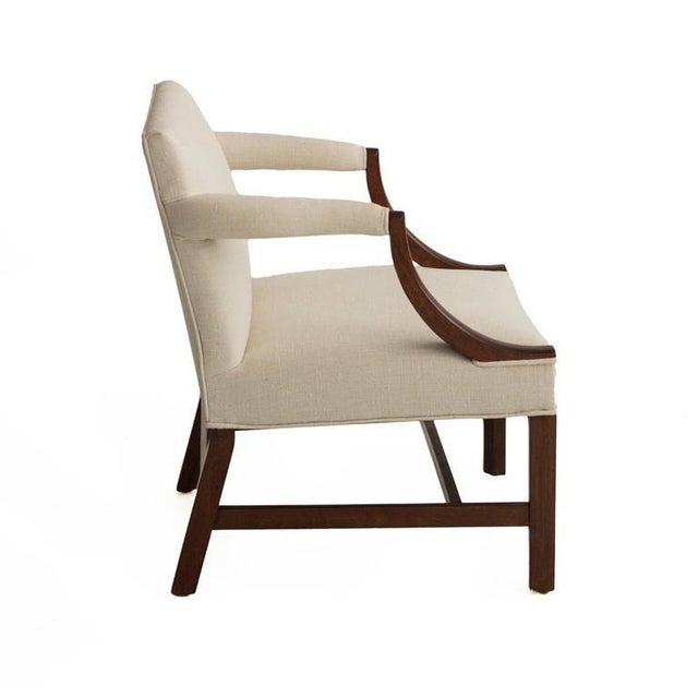 1940s Edward Wormley Pair of Armchairs For Sale - Image 5 of 7