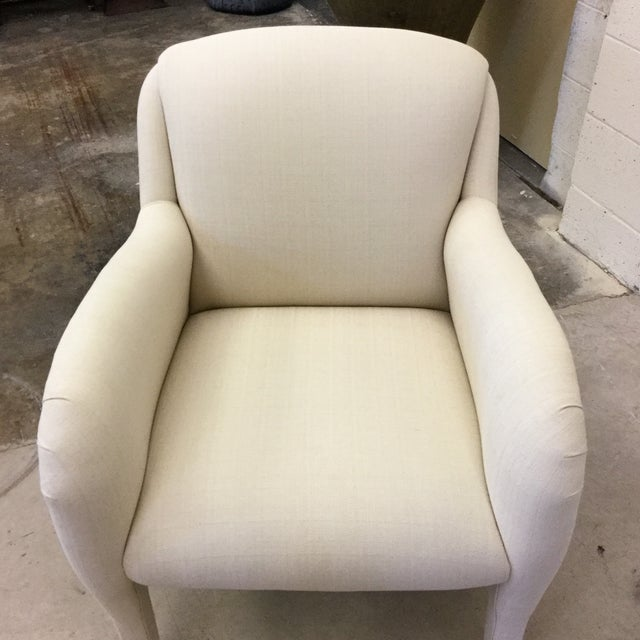 Contemporary Modernist Arm Chairs - a Pair For Sale In Richmond - Image 6 of 10