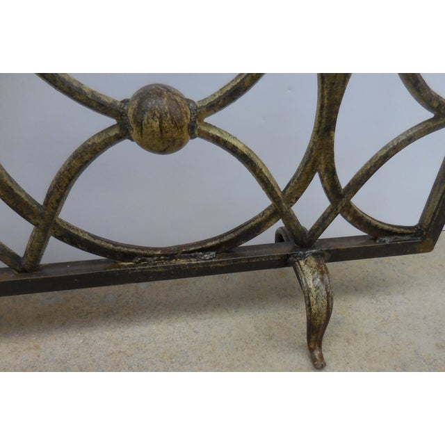 Iron Fireplace Screen - Image 9 of 11