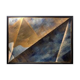 """Peak"" Mixed Media Painting by Jeffrey Francis Beardsall For Sale"
