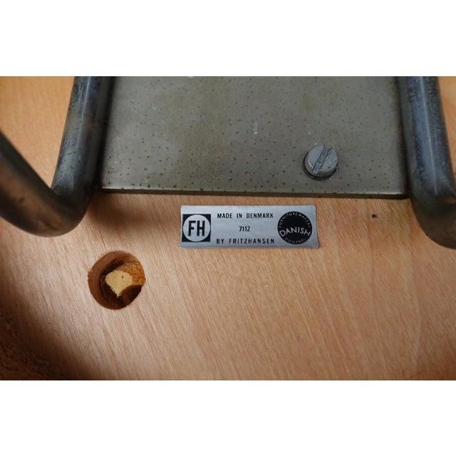 Fritz Hansen Model 7112 Counter Stools - Set of 3 - Image 5 of 5