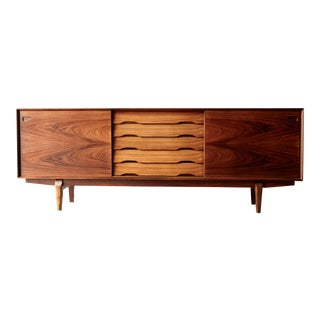 Rosewood Midcentury No. 65 Sideboard by Skovby Mobler, Denmark, 1960s For Sale