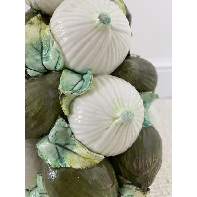 Vintage Italian Onions and Artichokes Topiary For Sale - Image 4 of 8