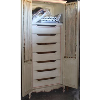 1970s Vintage French Provencial Style Armoire Preview