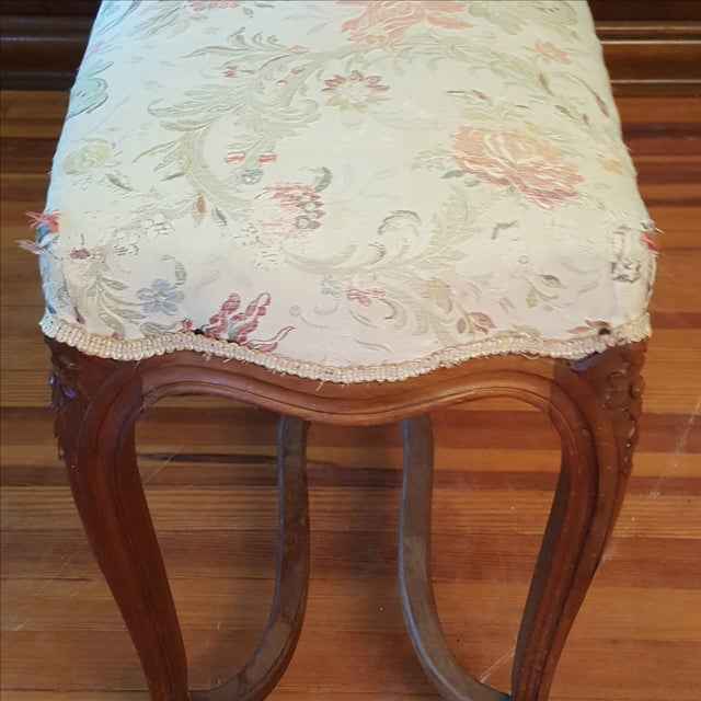 Antique French Provincial Bench - Image 4 of 6