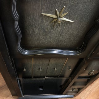 Mid Century Black Nine Drawer Dresser Preview