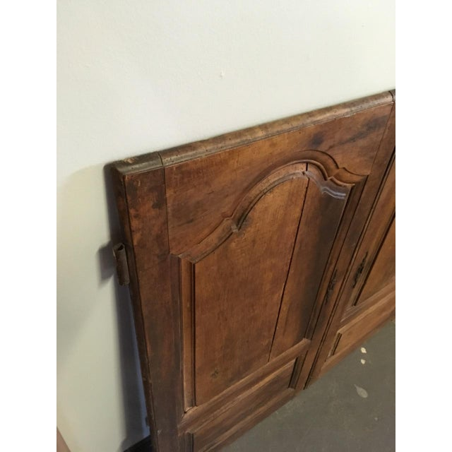 French Late 18th Century Walnut French Cabinet Doors- a Pair For Sale - Image 3 of 11