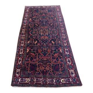 Wool Nahavand Rug - 5′3″ × 11′6″