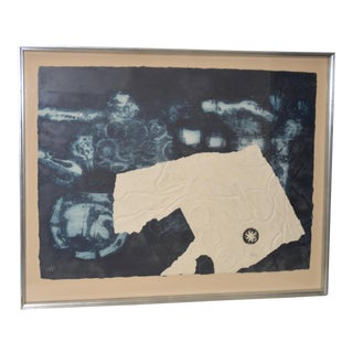 "Antoni Clavé ""Signes et ficelle"" Carborundum Etching w/ Aquatint c.1970 For Sale"