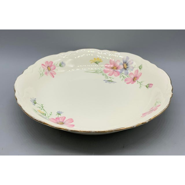 Boho Chic 1940s Vintage Homer Laughlin's Virginia Rose Dinner Plates- 21  Pieces For Sale -