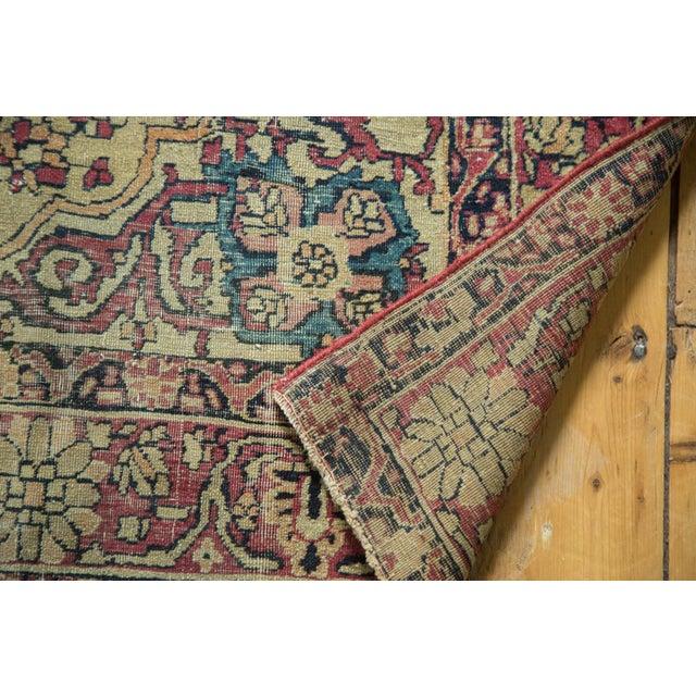 "Textile Antique Kermanshah Rug - 4' x 6'6"" For Sale - Image 7 of 10"