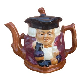 Crown Devon Tea Pot