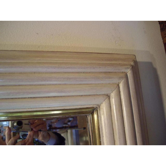 Art Deco French Art Deco Moderne Mirror For Sale - Image 3 of 10