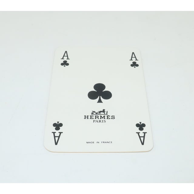 Hermès Mini Playing Cards With Hound Dog Motif For Sale In Atlanta - Image 6 of 9