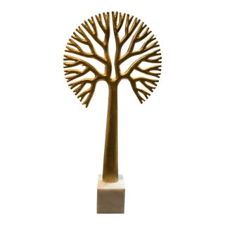 Gold Tree of Life Sculpture For Sale