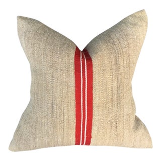 European Grainsack Pillow For Sale