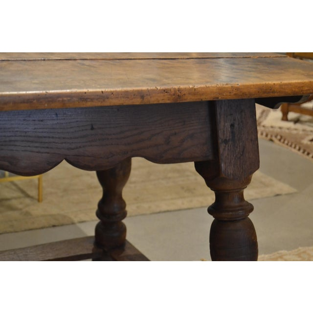 """French Provincial Antique """"Table D'Echangeur"""" For Sale - Image 3 of 13"""