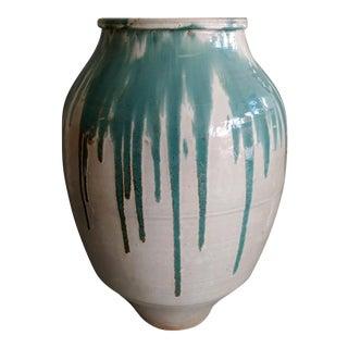 Antique Japanese Shigaraki Jar For Sale