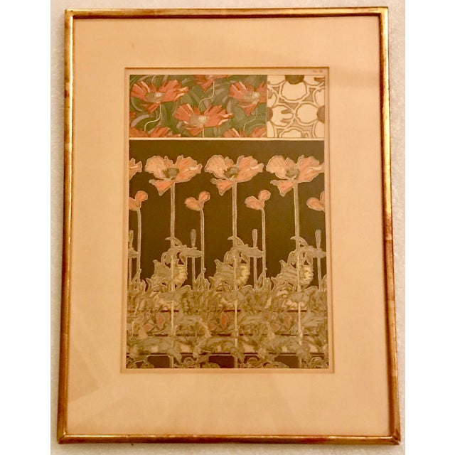 1900s Alphonse Mucha Original Lithograph - Plate 38 For Sale - Image 5 of 5