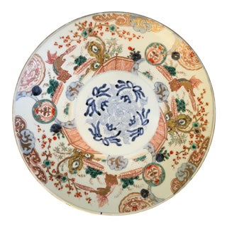 Large & Gorgeous Imari Ware Charger For Sale