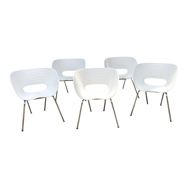Tom Vac Ron Arad by Vitra Chairs - Set of 5 For Sale