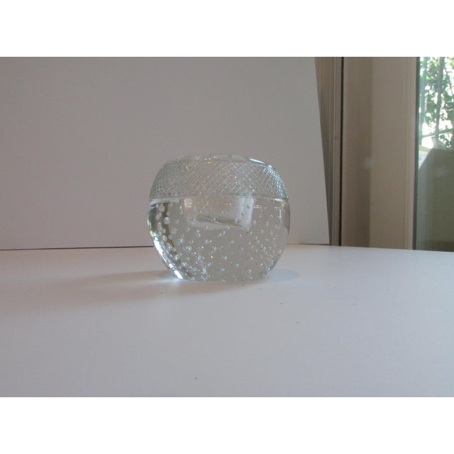 Glass Antique Glass Match Striker For Sale - Image 7 of 8