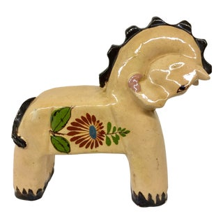 1950's Mexico Ceramic Horse For Sale