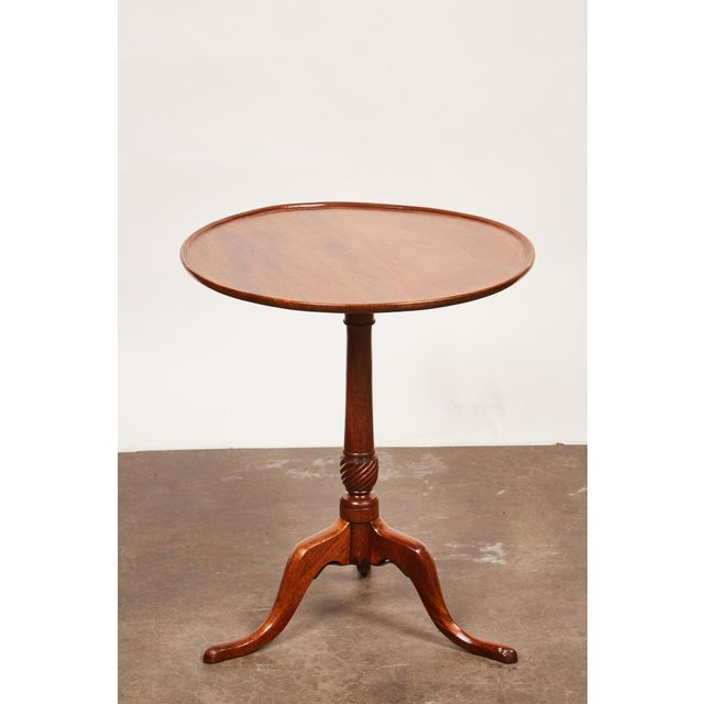 Late 18th Century Late 18th Century George III Mahogany Side Pedestal Table For Sale - Image 5 of 7
