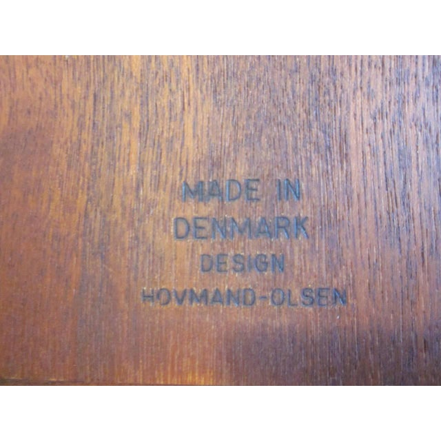 Arne Hovmand-Olsen Danish Side Table For Sale In Cincinnati - Image 6 of 7