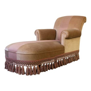 French 1940s Chaise Longue