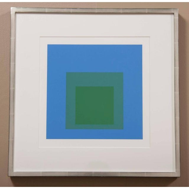 """Modern Josef Albers """"Homage to the Square"""" For Sale - Image 3 of 3"""
