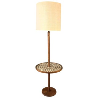 Gordon & Jane Martz for Marshall Studios Floor Lamp With Tile Table For Sale
