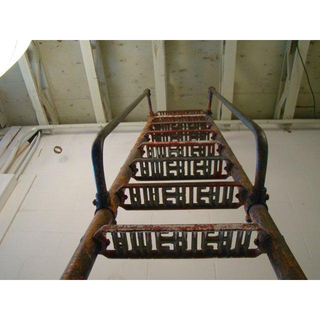 Industrial Vintage Steel American Playground Ladder For Sale - Image 3 of 11