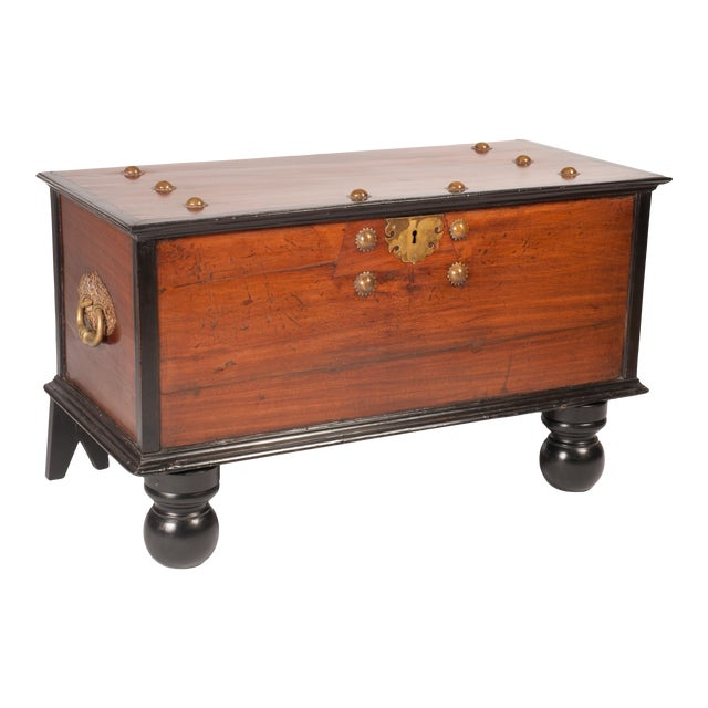 Indo-Dutch 19th C. Trunk - Image 1 of 6