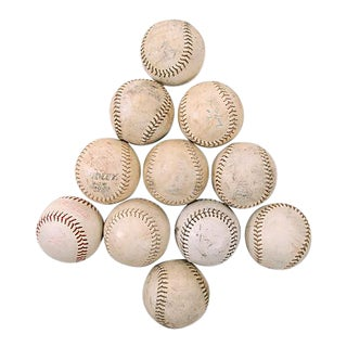 Vintage Softballs, S/11 For Sale