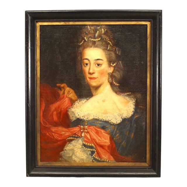 American Victorian Lady Portrait For Sale
