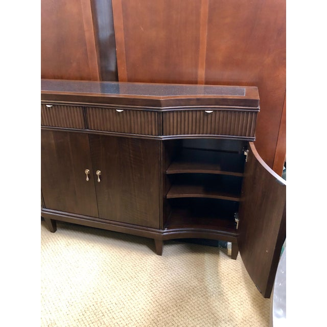 Traditional Traditional Walnut Buffet For Sale - Image 3 of 6